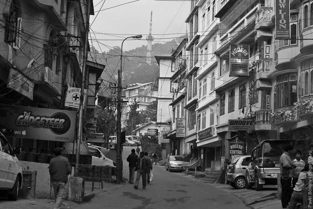 Новый год в Гангтоке и практическая информация о городе