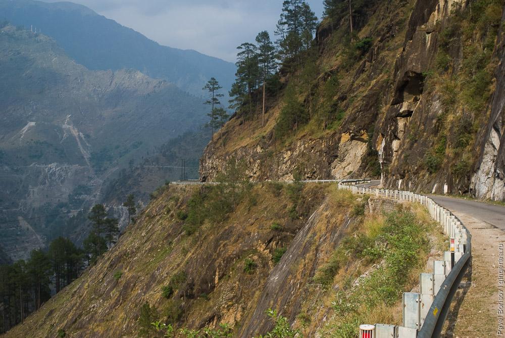 шоссе в Индии, road in India