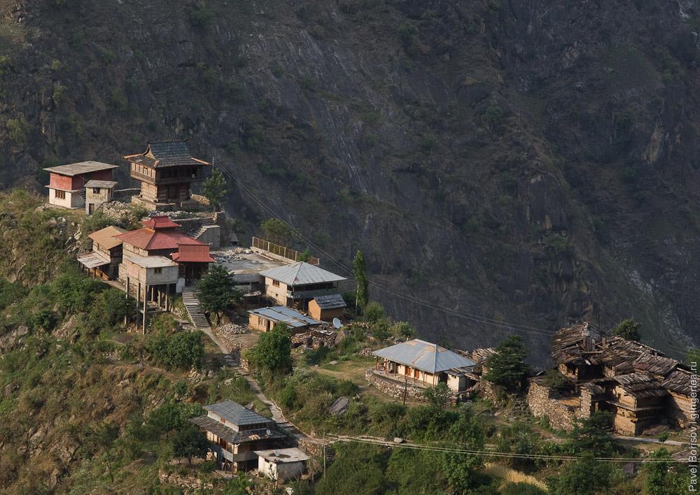 деревня в Киннауре, village in Kinnaur