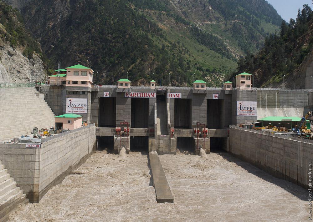 плотина в Индии, dam in India