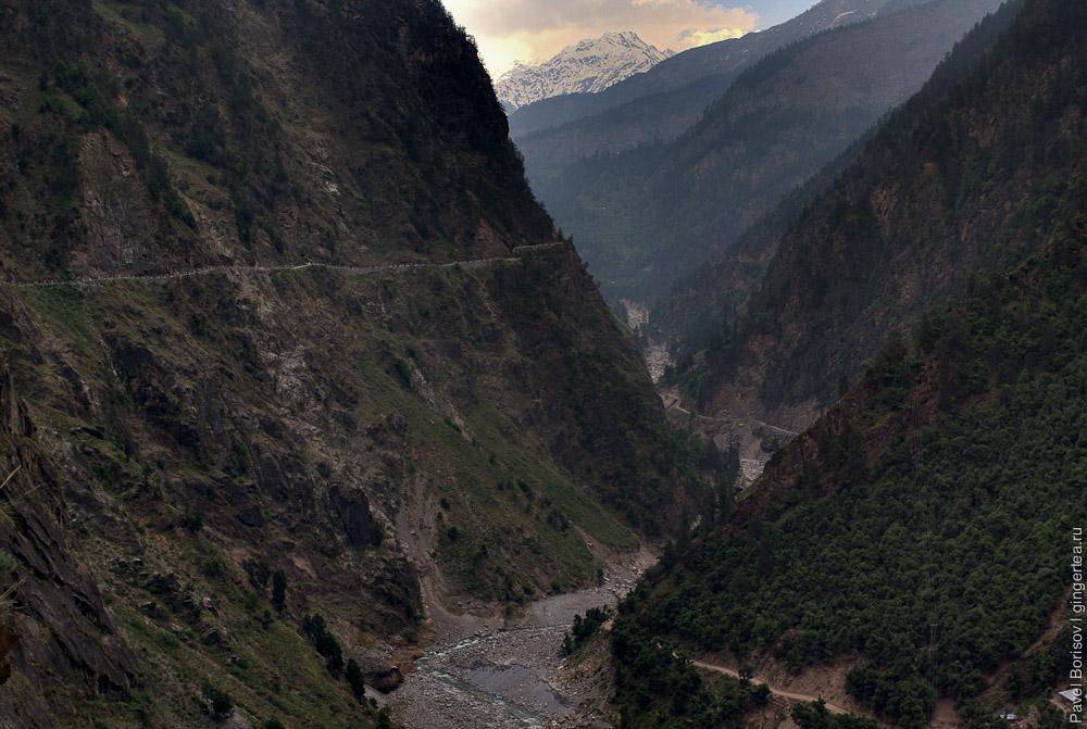 дорога в Индии, road in India