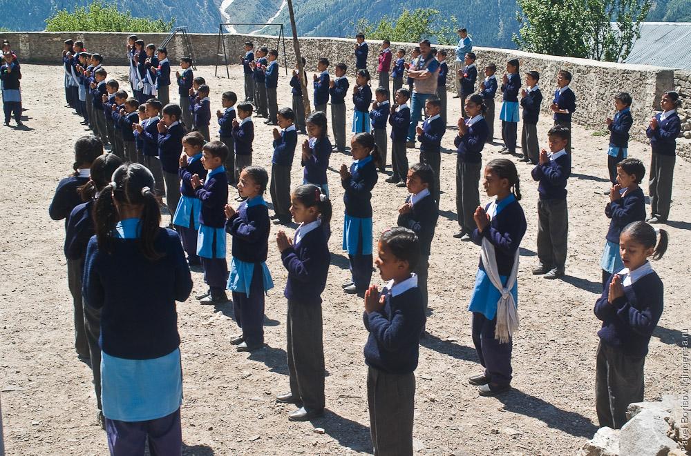 индийская школьная форма сальвар-камиз