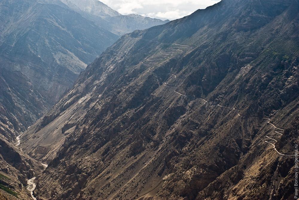 Дорога от китайской границы