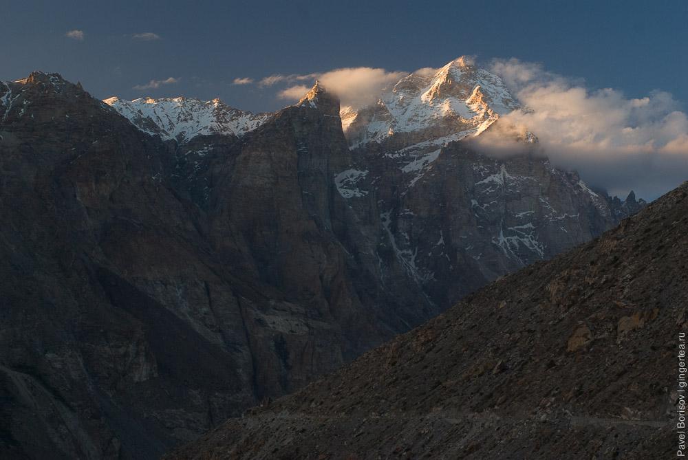 Горы на Индийско-Китайской границе