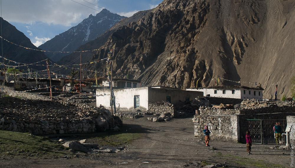 Верхний Киннаур, Нако, Химачал-Прадеш, Индия, Upper Kinnaur, Nako, Himachal-Pradesh, India