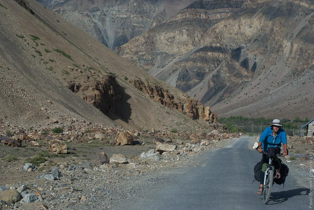 велопоход в Индии, долина Спити, cycling in Spiti valley