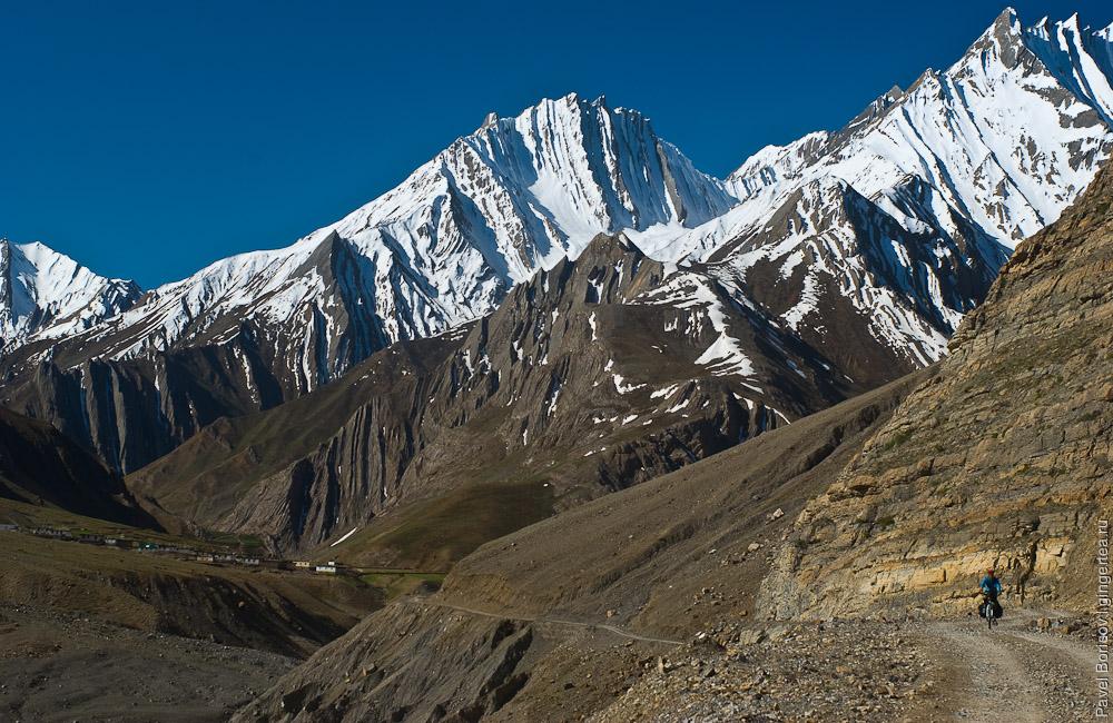 велопоход в Индии, Химачал-Прадеш, cycling in Indian Himalayas