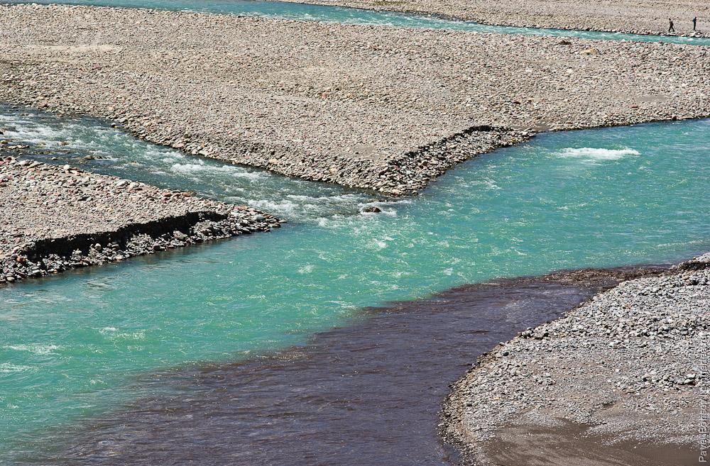приток впадает в реку Пин