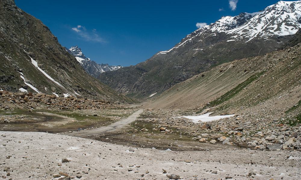 дорога в Лахуле, road in Lahaul