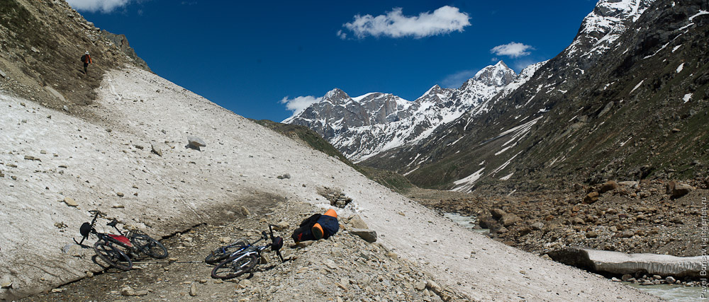 велосипед в Лахул, cycling in Lahaul