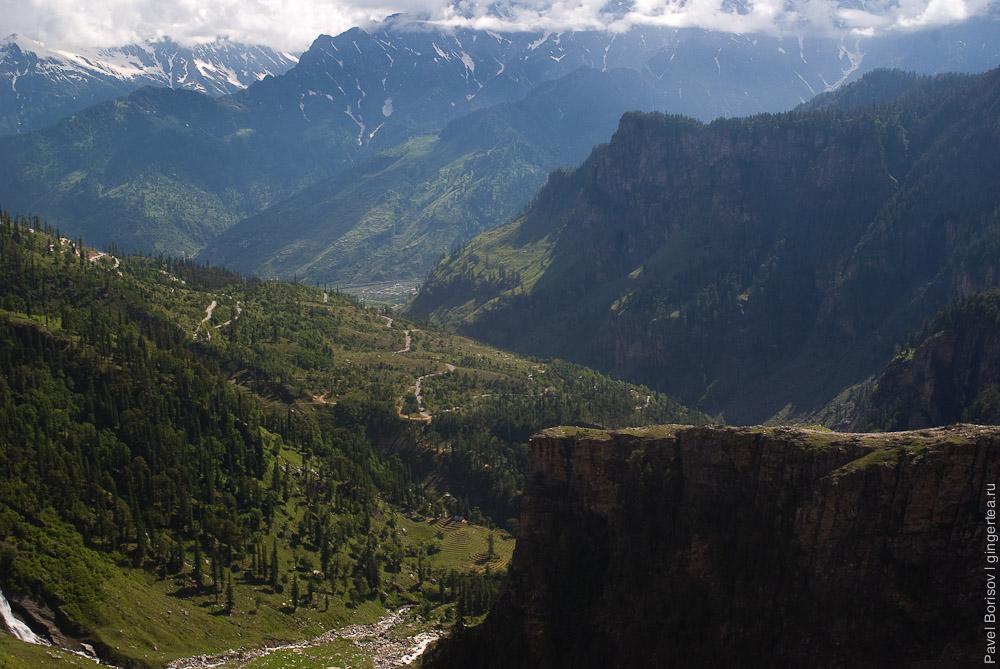 Гулаба, подъем на перевал Ротанг