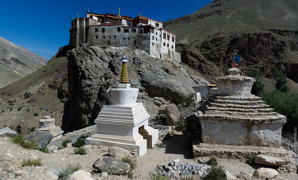 Буддийский монастырь в Муне, Занскар