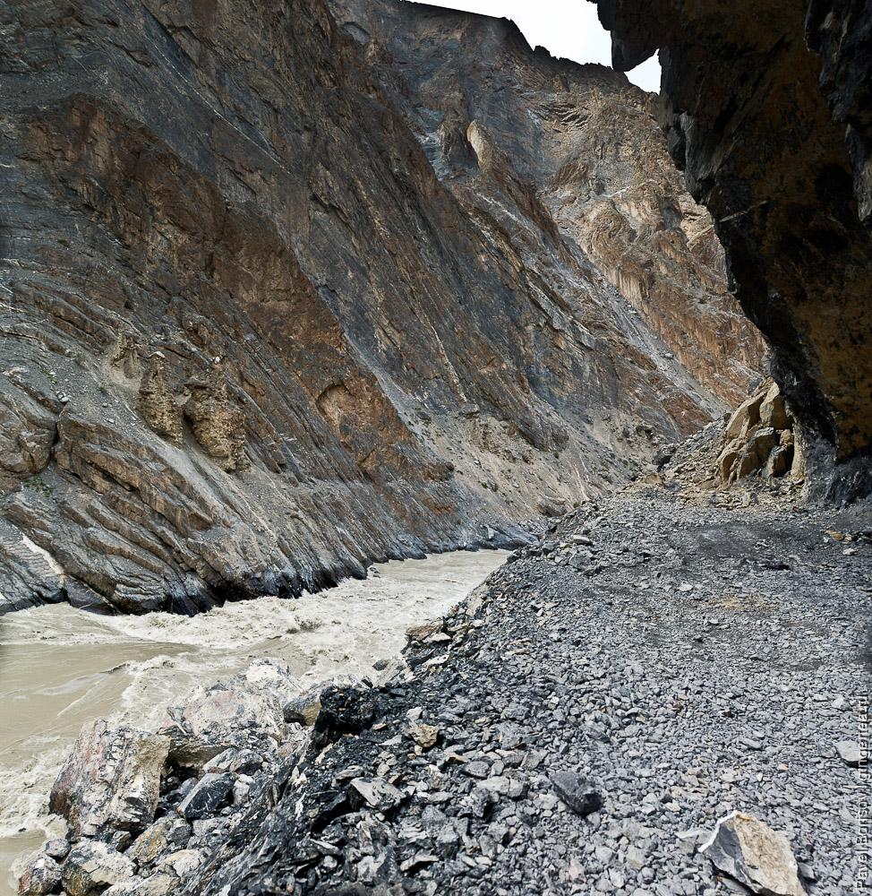 Порог на реке Занскар, Индия