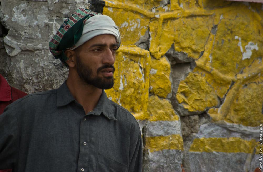 мусульманин в Каргиле