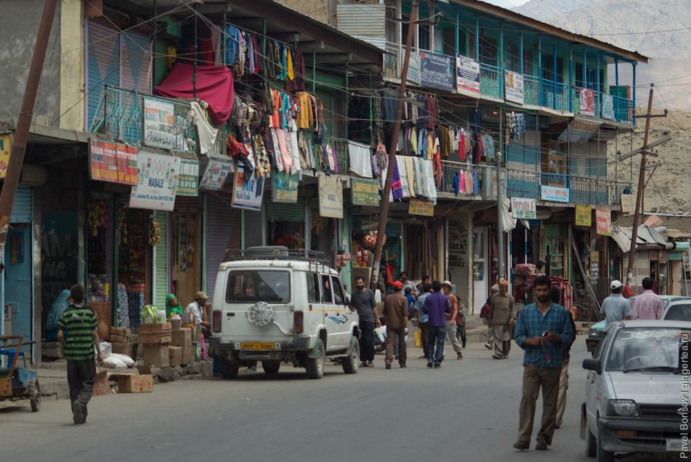 улица в городе Каргил