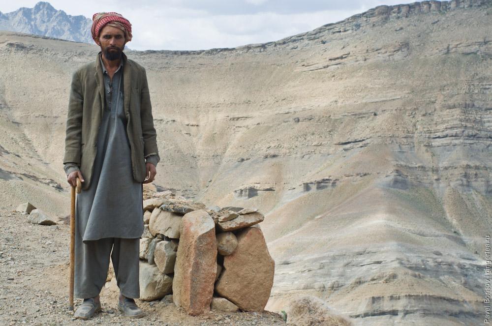 мусульманин-пастух в Ладакхе
