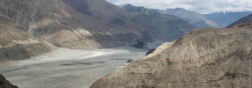 долина реки Шайок
