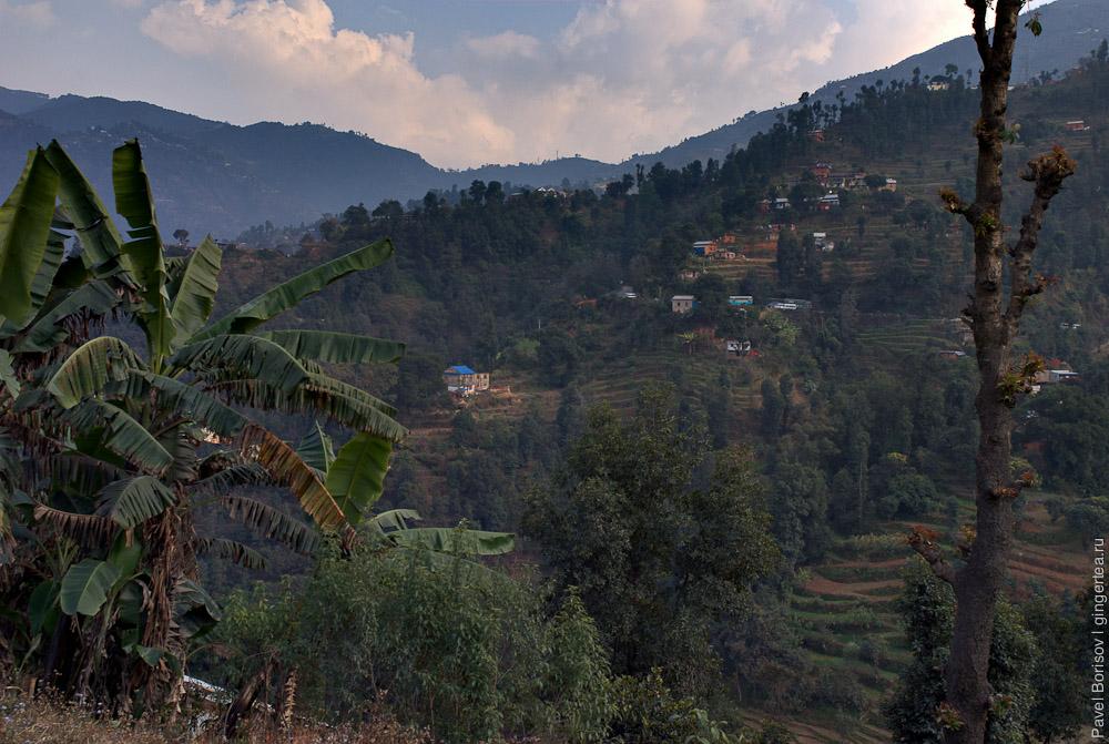 у дороги Покхара-Катманду