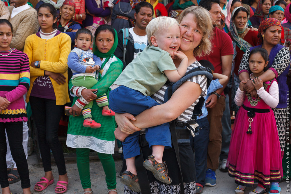 индийские женщины на празднике