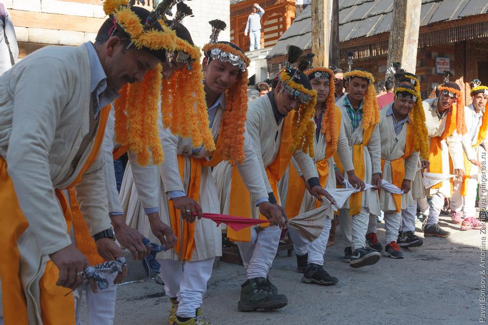танец нати в штате Химачал-Прадеш