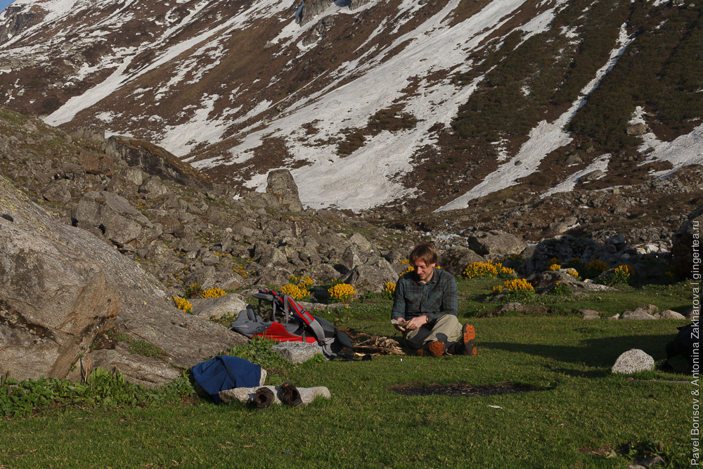 трекинг к горе Део Тибба с ребенком