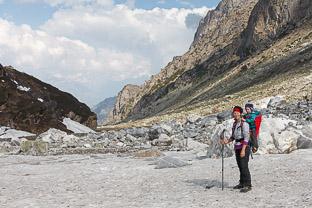 К горе Део-Тибба в Индийских Гималаях