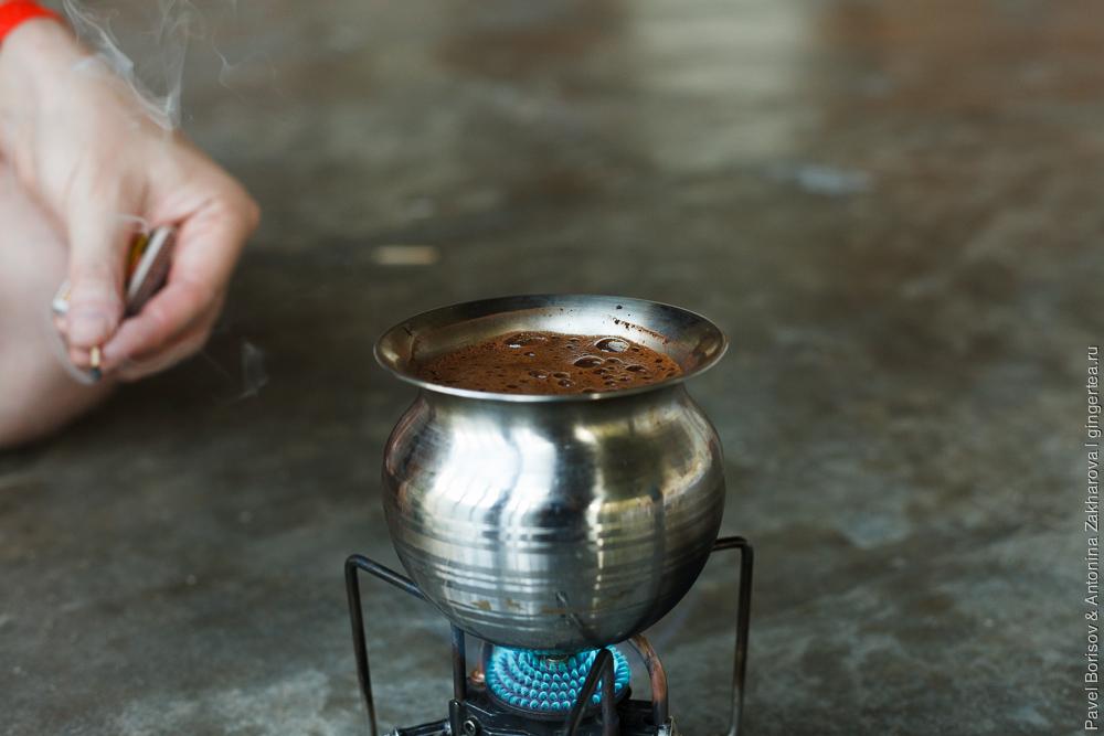 кофе эспрессо в походных условиях