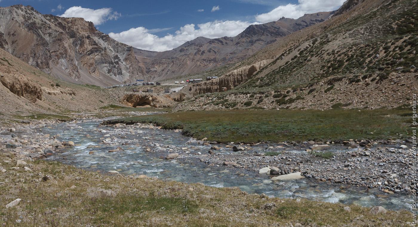 Река Сарчу, Индийские Гималаи и автодорога Манали-Лех