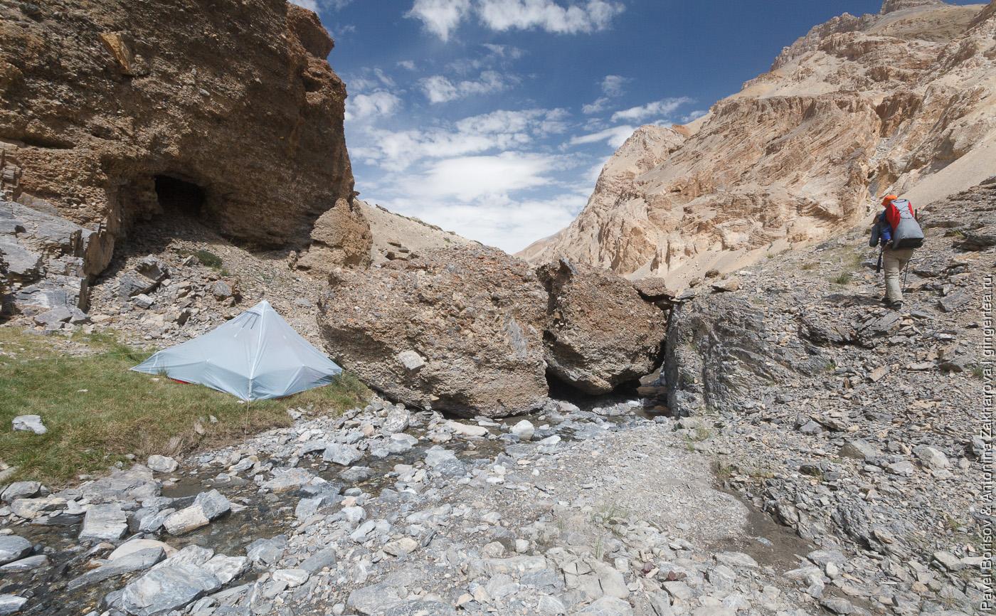 подъем к вершине Лингти, Индийские Гималаи