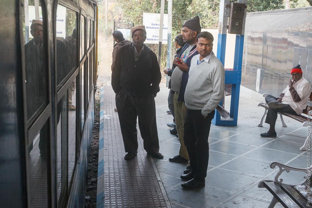 тормозные кондукторы Гималайская железная дорога