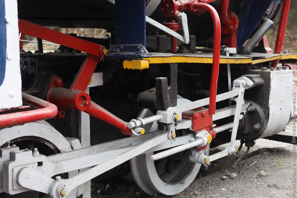 Раритетный паровоз Baby Sivok. Механизм Вальсхарта Дарджилингская Гималайская железная дорога