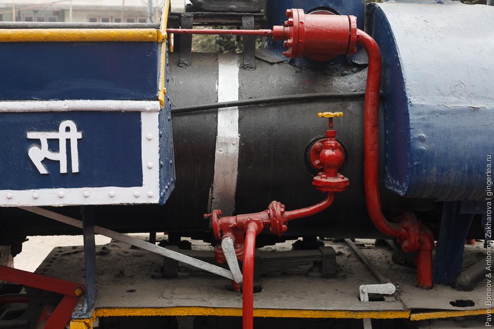 Раритетный паровоз Baby Sivok. Котел. Дарджилингская Гималайская железная дорога