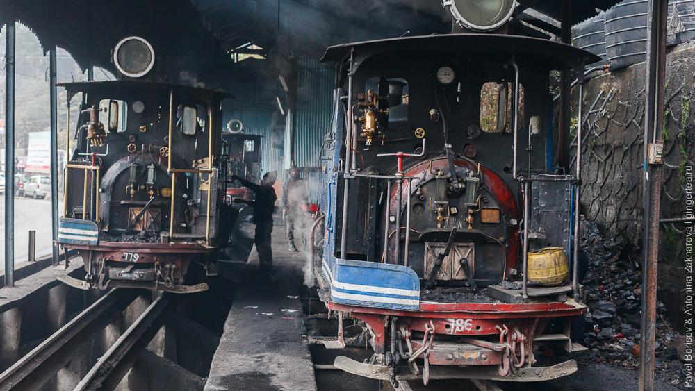 Стимпанк, Steampunk, Паровозы DHR class B, Дарджилингская Гималайская железная дорога