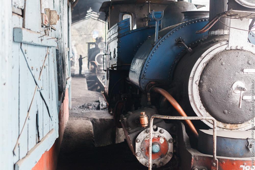 Паровоз DHR class B, обслуживание, Дарджилингская Гималайская железная дорога