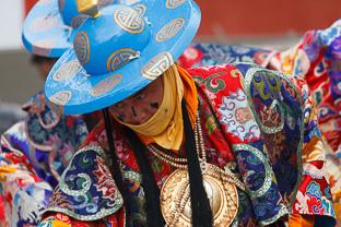 Чам - буддийская мистерия