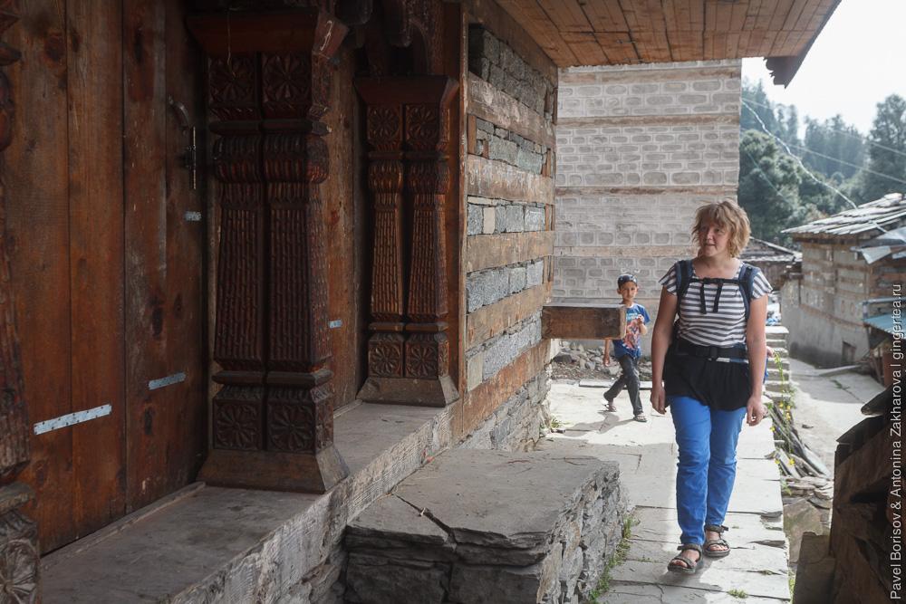 храм в Индийских Гималаях
