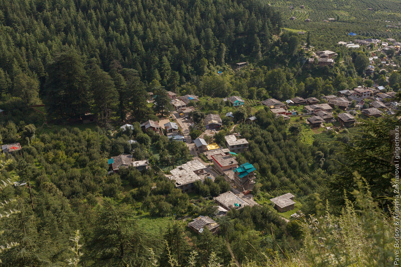 деревня в долине Куллу