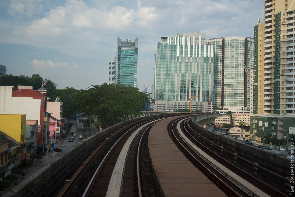 Как Тоня стала машинистом метро в Куала Лумпуре