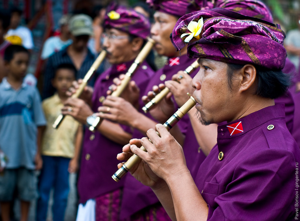 Фестиваль в Убуде. Индонезия