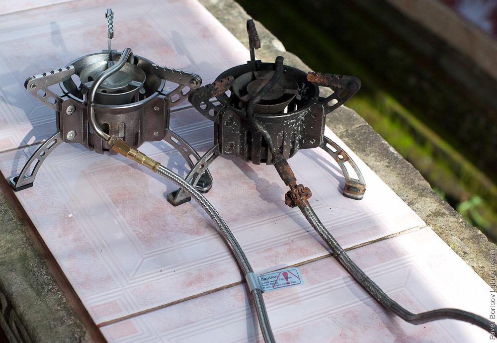 На чем готовить еду в походах и самостоятельный ремонт бензиновой горелки