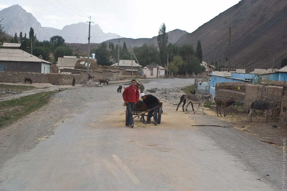 Кто живет в горной Киргизии