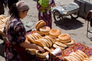 Репортаж c ошского базара