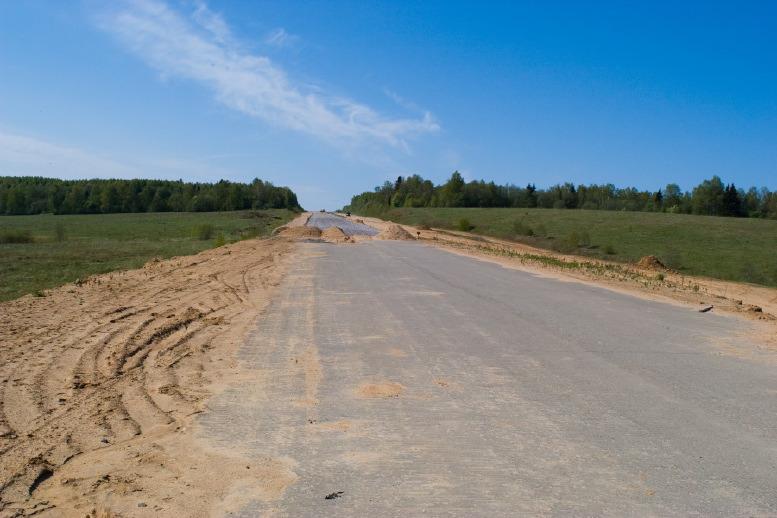 Дорога к Берендею, фото Кубринской узкоколейки и нового недостроя Ярославского шоссе