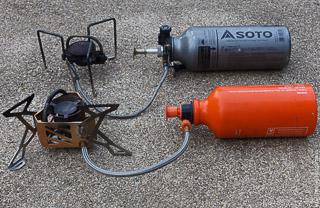 Бензиновые горелки для автономных походов: Soto Muka и FireMaple. Тестирование  Тибетом.