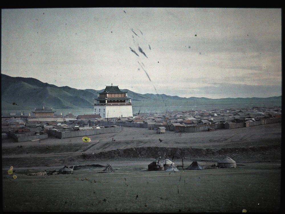 старая фотография Монголии, 1913
