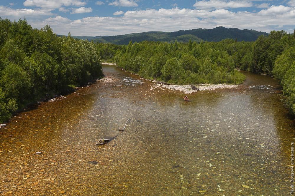 река на Тункинском тракте