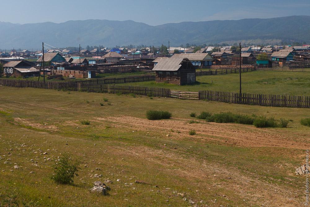 деревня на Тункинском шоссе