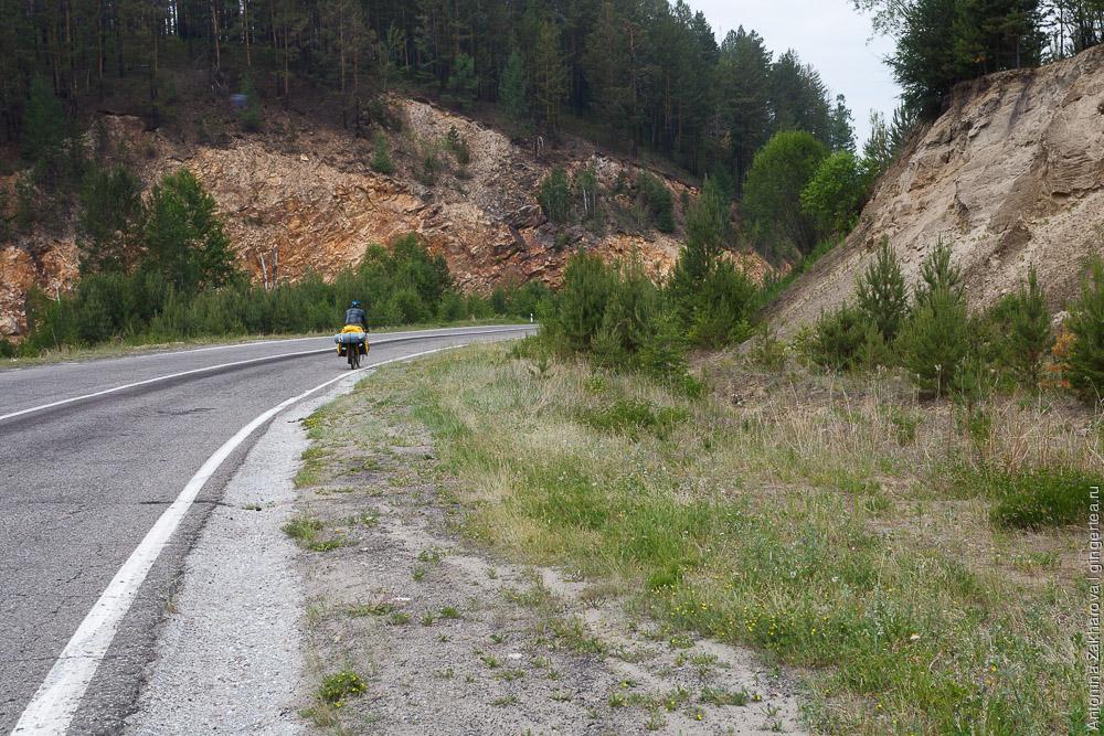 велопоход, участок от Байкала до Хубсугула