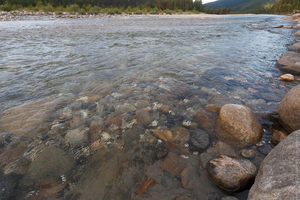 река Иркут в Бурятии