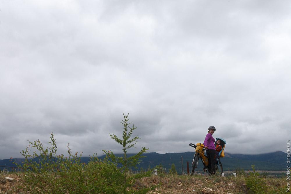 велопоход по России и Монголии